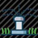automatic sprinkler, gardening, smart farm, spray water, sprinkler
