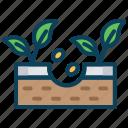 plants.gardening, seeding icon