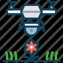 camera, drone, monitor, monitor plants, plant, smart farm