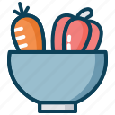 farming, garden, harvest, organic vegetables, vegetables icon