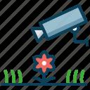 camera, cctv, garden, monitor, smart farm icon