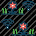 garden, monitor, smart farm, smart pot icon