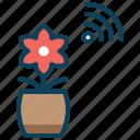 agriculture, cultivation area, planting area, smart farm icon