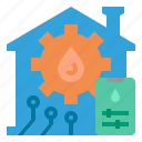 water, control, setting, smart, home