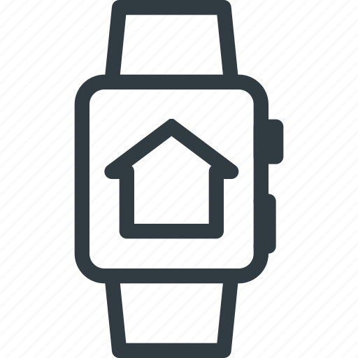 app, home, smart, watch icon