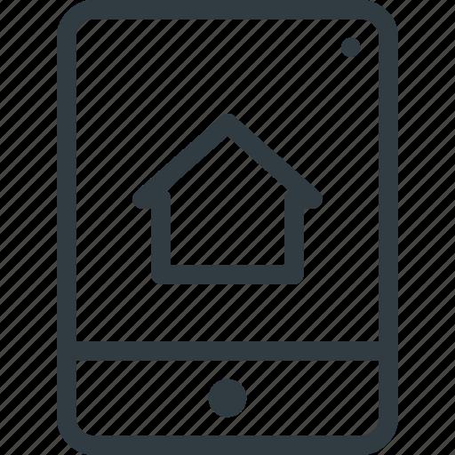 app, smarthome, tablet icon