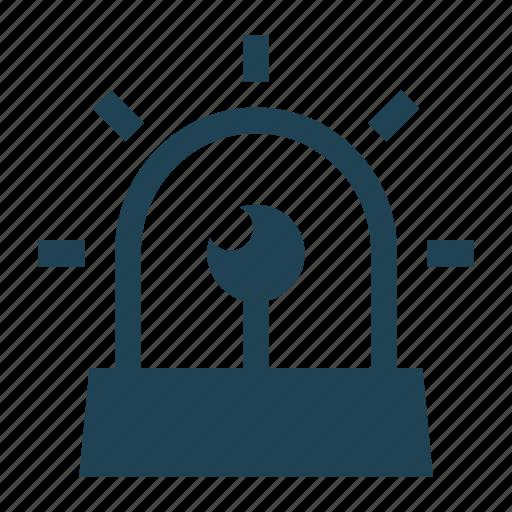 Alarm, alarm siren, alert, protection, security, siren, warning icon - Download on Iconfinder