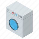 clothes washer, instant machine, washing machine, home appliance, laundry icon