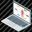 body checkup, fitness tracker, fitness website, online checkup, smart app, smart gadget icon