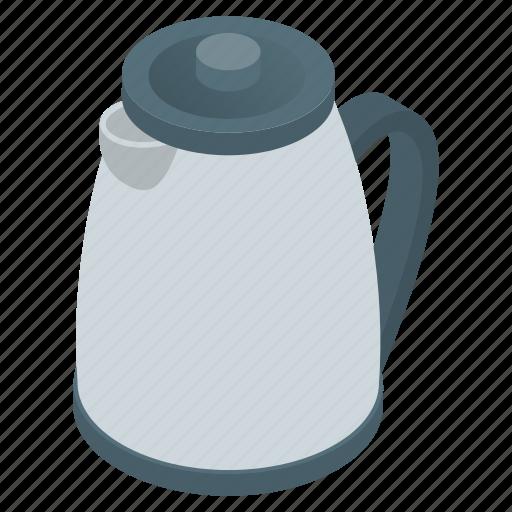 home appliance, kettle, kitchen appliance, tea kettle, vacuum flask icon