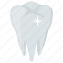 bright tooth, dental care, hygiene, tooth shiner, tooth whitening icon