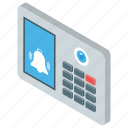 calling device, chat, communication system, customer support, intercom bell icon