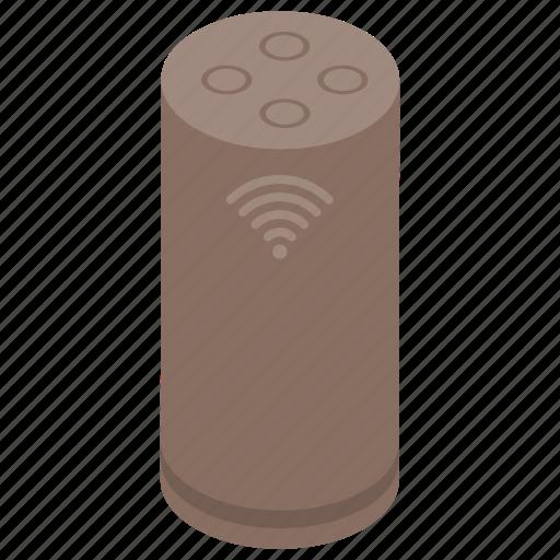 digital device, echo input device, smart gadget, smart home, wireless device icon
