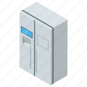 chiller, fridge, home appliance, minibar, refrigerator icon
