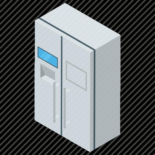 chiller, fridge, home appliance, minibar, refrigerator icon