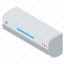 ac, air conditioner, electric device, home appliance, room ac, split ac icon