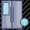 appliance, fridge, home, kitchen, wireless
