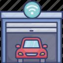car, garage, house, storage, vehicle, wireless