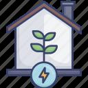 energy, garden, growth, home, house, plant, power