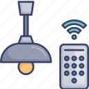 control, home, lamp, light, lighting, remote, wireless