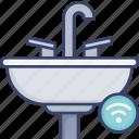 bathroom, restroom, sink, tab, wash, wireless