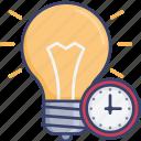 clock, lighing, light, lightbulb, time, timer, timing