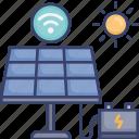 battery, energy, panel, power, solar, sun, wireless
