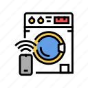 washer, remote, control, equipment, fire, alarm