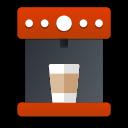 coffee, maker, cup, cafe, mashine icon