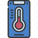 mobile, heating, app, domotics, automation