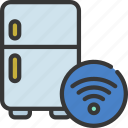 smart, fridge, domotics, automation, refrigerator