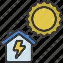 solar, power, domotics, automation, sun