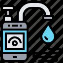 cost, determine, iot, smartphone, water