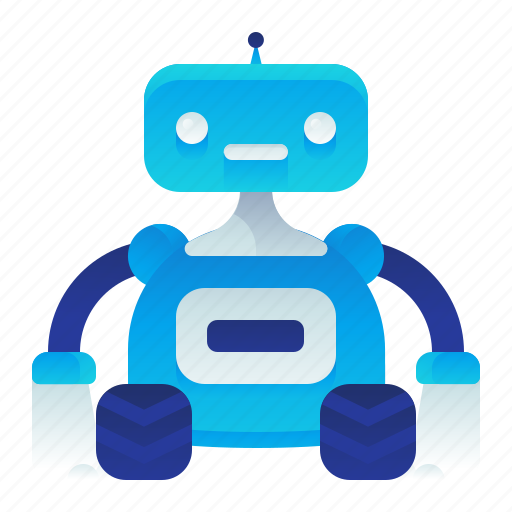 cleaner, device, electronic, housekeeping, robot icon