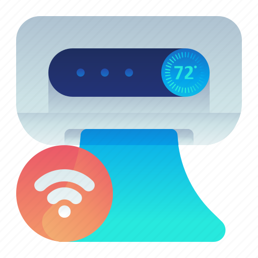Aircon, airconditioner, smart, wireless icon - Download on Iconfinder