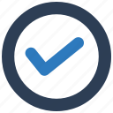 accepted, approved, check mark, confirm icon