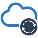 backup, cloud, refresh, reload icon