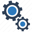 configuration, gears, options, settings icon
