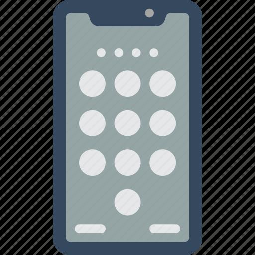 apple, device, iphone, keypad, phones, smart, smart phone icon