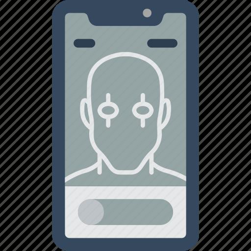 apple, device, iphone, retina, scan, smart, smart phone icon