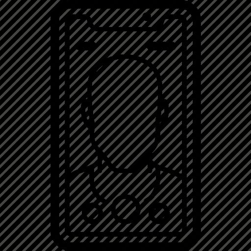 apple, device, iphone, selfie, smart, smart phone icon