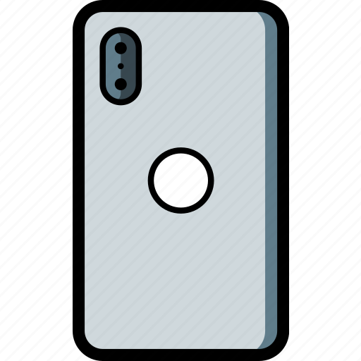 apple, back, device, iphone, smart, smart phone icon