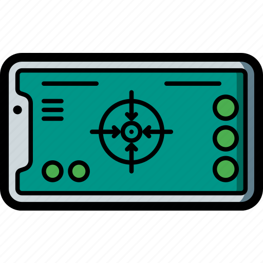 apple, ar, device, game, iphone, smart, smart phone icon