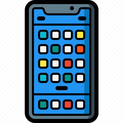 apple, device, home, iphone, screen, smart, smart phone icon