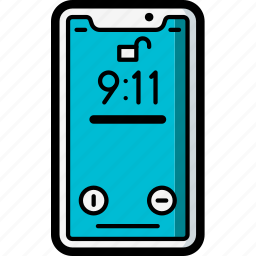 apple, device, iphone, lock, screen, smart, smart phone icon