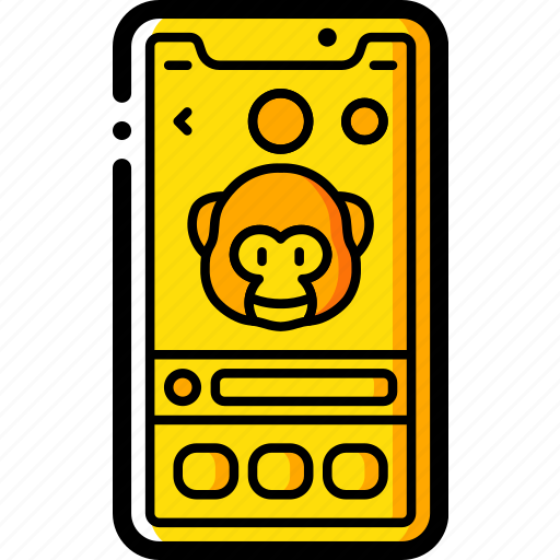 apple, device, emojis, face, iphone, smart, smart phone icon