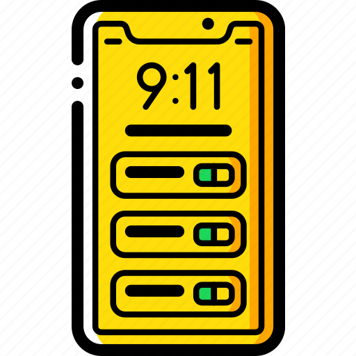 apple, device, iphone, notifications, smart, smart phone icon