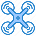 aerial, drone, uav, unmanned, vehicle icon