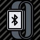 bluetooth, interface, smart, ui, watch