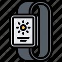 interface, smart, temperature, ui, watch, weather